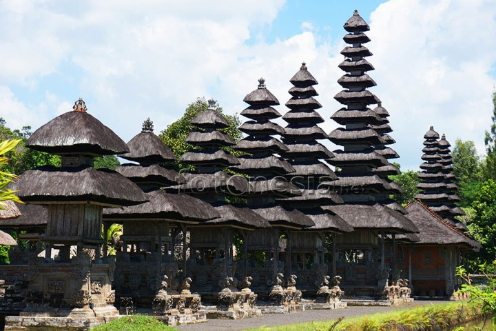 Pura Taman Ayun Bali memiliki karakter bangunan khas yang kuat. www.fotonesia.net sumali ibnu chamid